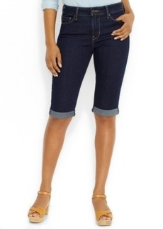 Levi's Cuffed Bermuda Shorts, Darkest Ace Wash