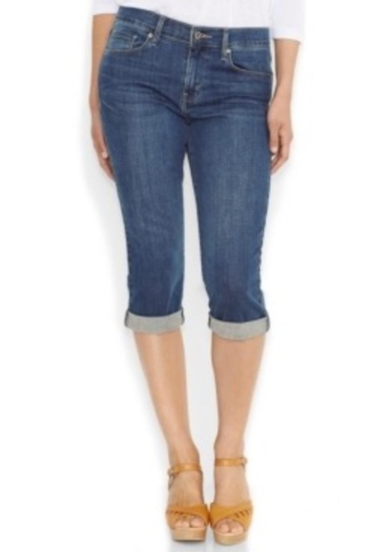 Leviu0026#39;s Leviu0026#39;s Cuffed Capri Jeans Baybreak Blue Wash | Denim - Shop It To Me
