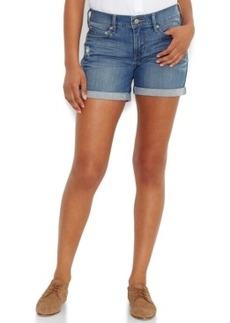 Levi's Cuffed Denim Shorts, Blue Wash