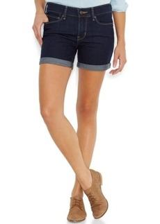 Levi's Cuffed Denim Shorts, Dark Blue Wash