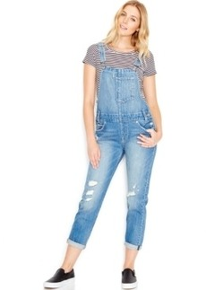 Levi's Distressed Denim Overalls, Overlook Wash