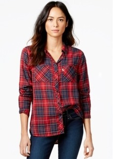 Levi's Double-Face Plaid 2-Pocket Boyfriend Shirt
