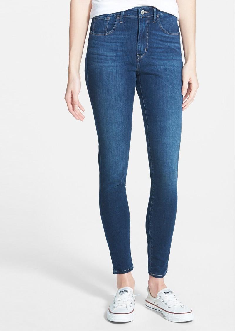 levi 39 s levi 39 s high waist skinny jeans medium denim. Black Bedroom Furniture Sets. Home Design Ideas