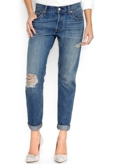 Levi's 501 Ct Customized and Tapered Boyfriend Jeans, Surfer Girl Wash