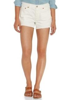 Levi's Juniors' 501 Cutoff Shorts, White Wash