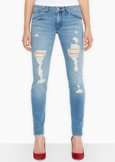 Levi's Juniors' 524 Destroyed Skinny Jeans