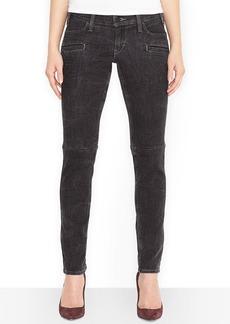 Levi's® Juniors' 524 Moto Skinny Jeans