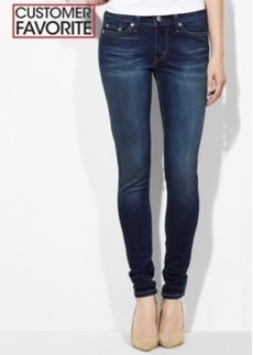 Levi's Juniors 535 Denim Leggings, Dark Wash