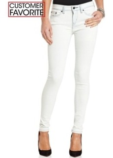 Levi's Juniors' 535 White-Indigo-Wash Denim Leggings