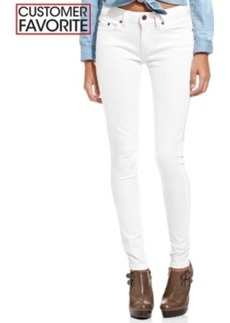 Levi's Juniors' 535 White Wash Denim Leggings