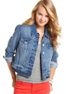 Levi's® Juniors Authentic Trucker Denim Jacket, Rosebud Blue Wash