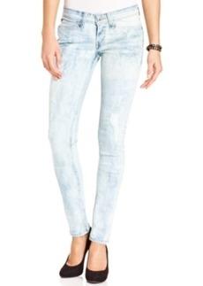 Levi's Juniors' Demi Curve Acid-Wash Skinny Jeans