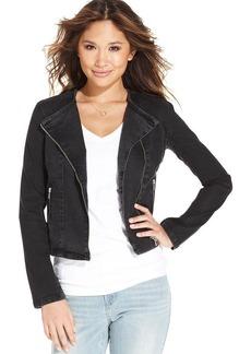 Levi's® Juniors' Denim Moto Jacket
