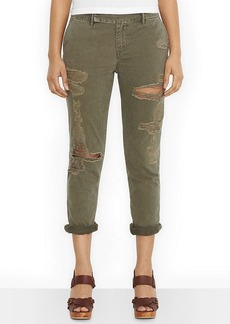 Levi's® Juniors' Destroyed Chino Pants