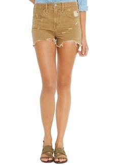 Levi's® Juniors' Destroyed Denim Shorts