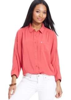 Levi's Juniors' Dolman-Sleeve Shirt