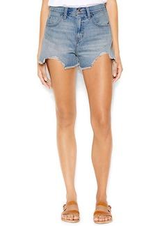 Levi's® Juniors' High-Waist Destroyed Denim Shorts