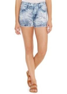 Levi's Juniors' Printed High-Waist Denim Shorts