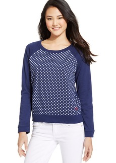 Levi's® Juniors' Star-Print Sweatshirt