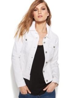 Levi's Long Sleeve Denim Trucker Jacket, White Wash