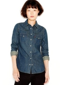 Levi's Long-Sleeve Denim Western Shirt