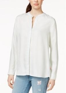Levi's Mandarin-Collar Boyfriend Shirt