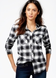 Levi's Plaid 2-Pocket Boyfriend Shirt
