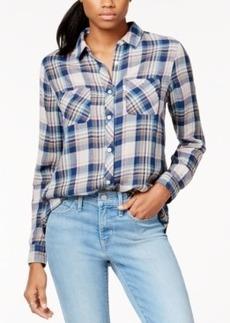 Levi's Plaid 2-Pocket Boyfriend Shirt