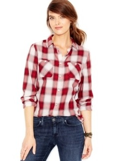Levi's Plaid Boyfriend Shirt