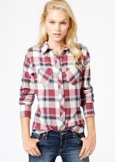 Levi's Plaid Snap-Down Shirt
