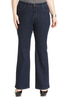 Levi's® Plus Size 580 Defined-Waist Bootcut Jeans, Hutton Wash