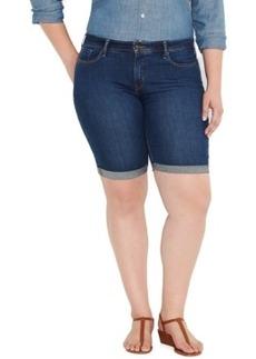 Levi's Plus Size Bermuda Denim Shorts, Medium Blue Wash
