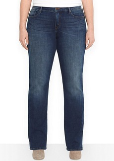 Levi's Plus Size Bootcut Jeans, Luck Out West Wash