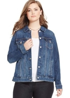 Levi's Plus Size Denim Jacket, Dark Blue Wash