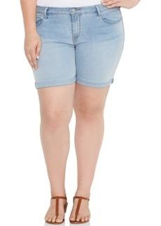Levi's Plus Size Denim Shorts, Soft Sky Wash