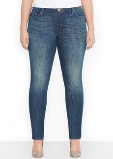 Levi's® Plus Size Flatters & Flaunts Skinny Jeans, Antique Moss Wash