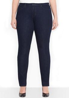 Levi's Plus Size Flatters & Flaunts Skinny Jeans, Soulful Dark Wash