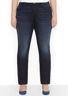 Levi's® Plus Size Flatters & Flaunts Straight-Leg Jeans, Deep Sea Wash