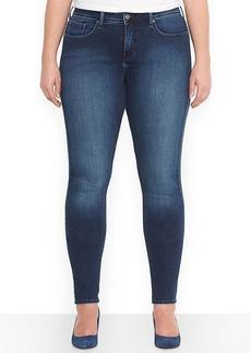 Levi's Plus Size Skinny Jeans, Medium Blue Wash
