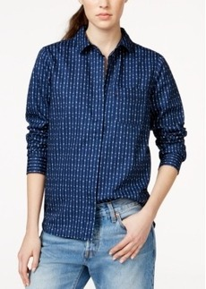 Levi's Printed Boyfriend Shirt