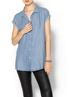 Levi's Rolled Sleeve Blouse