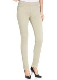 Levi's Skinny Perfectly Slimming Pull-On Pants, Beige Wash