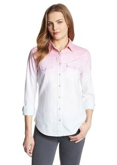 Levi's Women's Dip-Dye Annie Denim Shirt