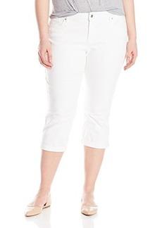 Levi's Women's Plus-Size Plus Classic Capri