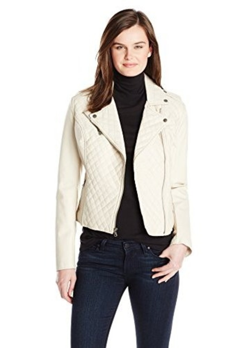 Levi's Levi's Women's Quilted Asymmetrical Faux Leather ...