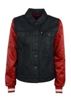 Levi's Women's San Francisco 49ers Denim Varsity Jacket