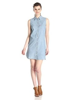 Levi's Women's Sleeveless Chambray Dress