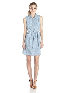 Levi's Women's Sleeveless Shirt Dress