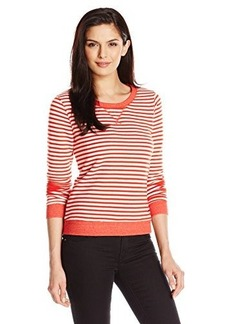 Levi's Women's Striped French Terry Crew Pullover
