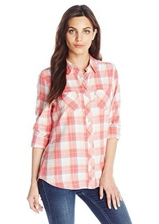 Levi's Women's Two Pocket Plaid Shirt